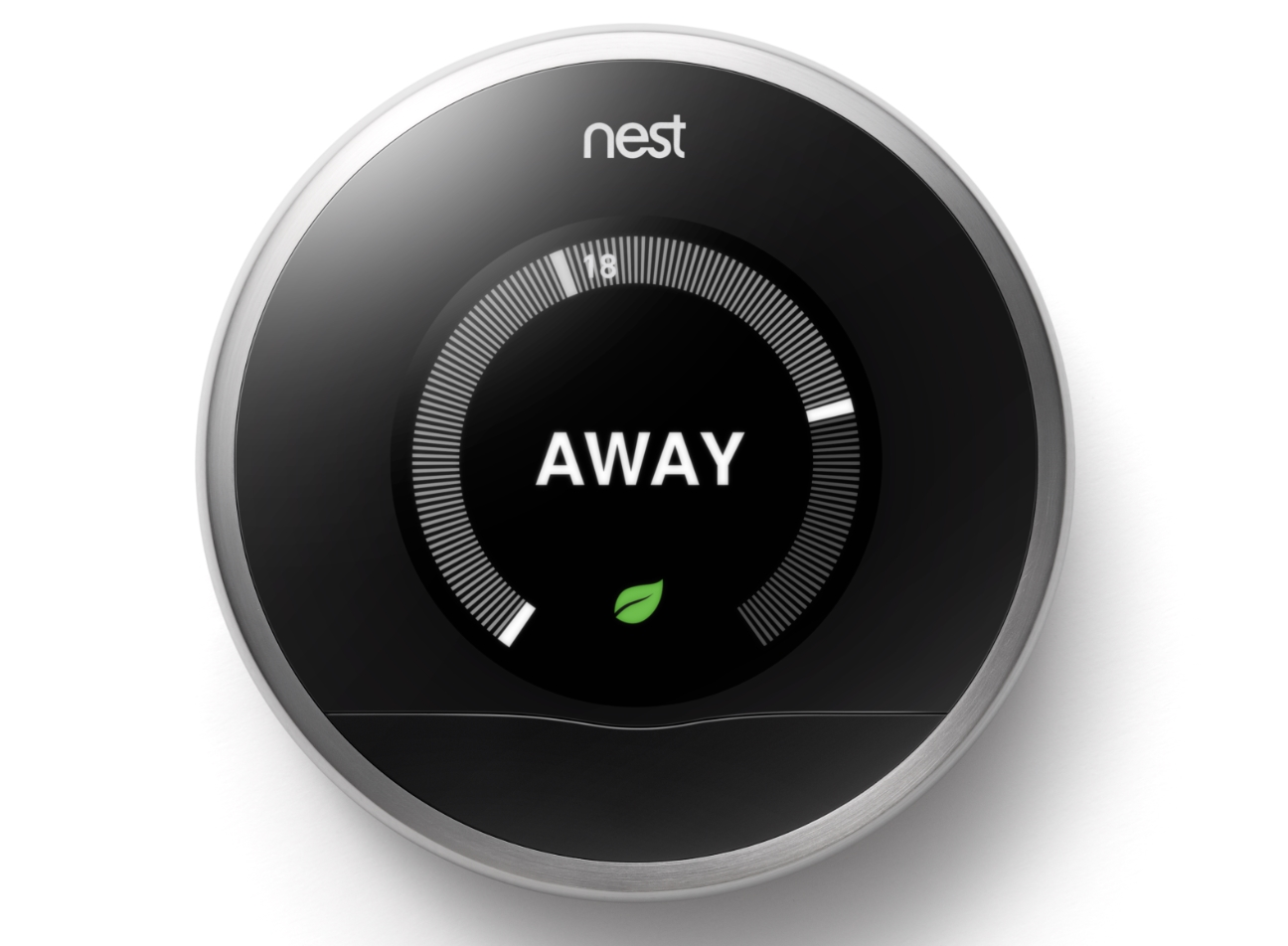 Nest 39 s smart thermostat is now available to buy in the uk - Nest thermostat stylish home temperature control ...