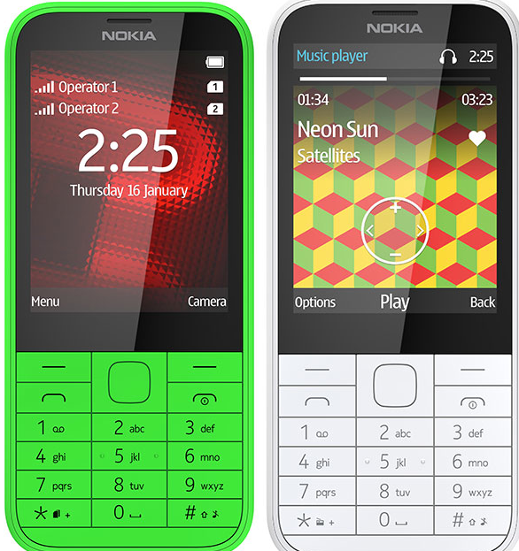 Nokia 225 3 Nokia unveils its slimmest Internet phone yet, the $54 Nokia 225