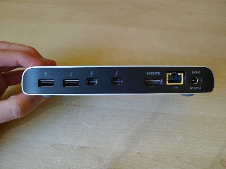 P1050331 730x547 Elgato Thunderbolt Dock review: This sleek station will supercharge your laptop powered workspace