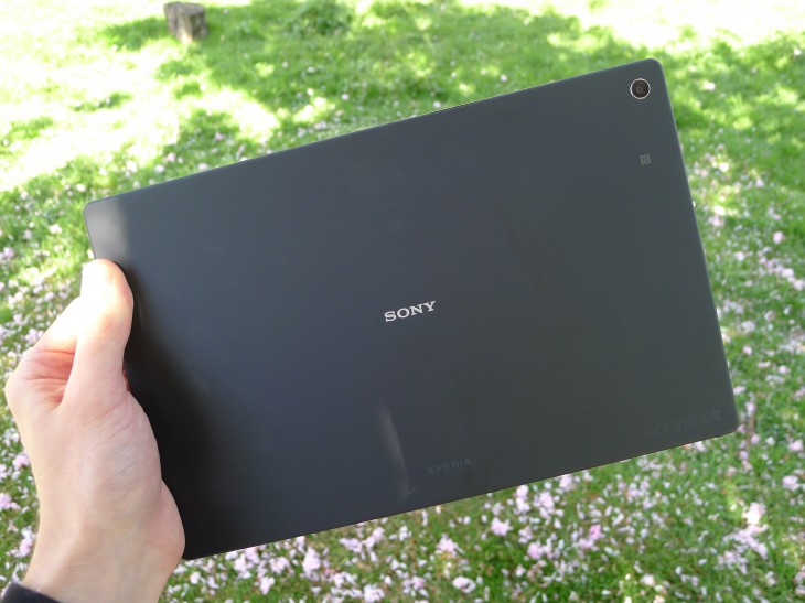 P1050354 730x547 Sony Xperia Z2 Tablet review: A skinny Android slate thats light, powerful and waterproof