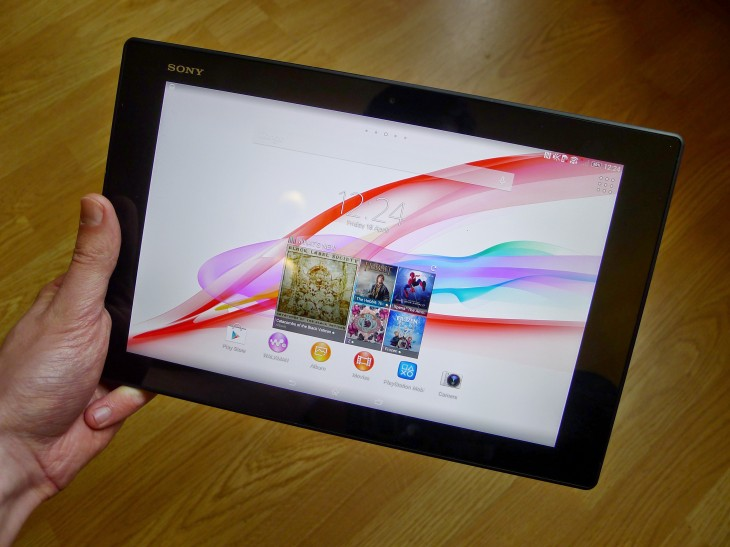 P1050417 730x547 Sony Xperia Z2 Tablet review: A skinny Android slate thats light, powerful and waterproof