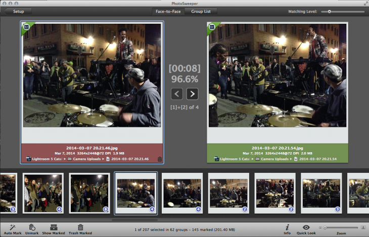 Screen Shot 2014 04 19 at 1.16.19 AM 730x469 PhotoSweeper for Mac whisks away duplicate images