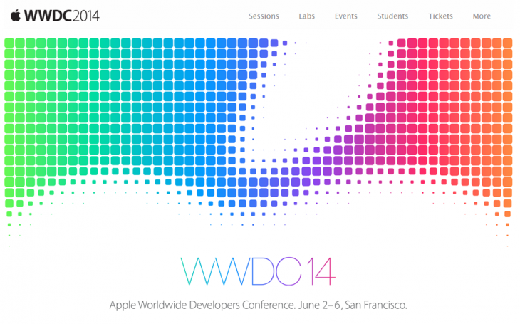Screenshot 2014 04 03 13.53.13 730x455 Apples annual WWDC conference will start on June 2 in San Francisco