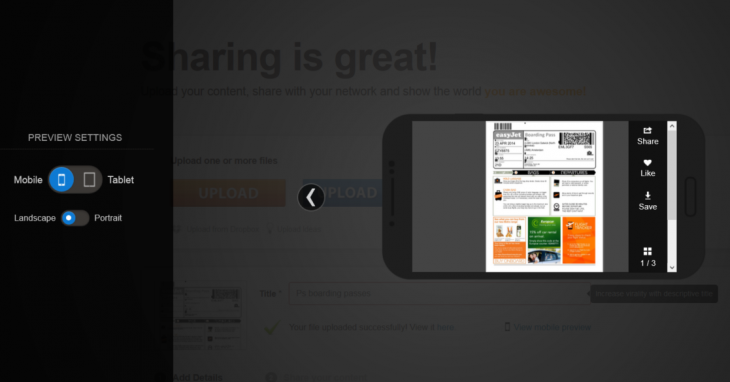 Screenshot 2014 04 16 12.18.11 730x382 LinkedIns SlideShare gets its first ever native mobile app, kicking off with Android