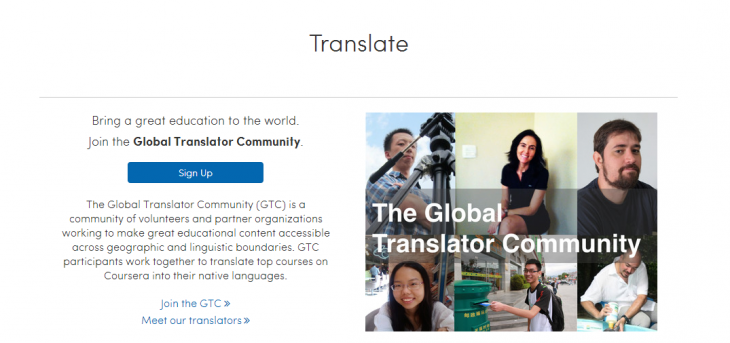Screenshot 2014 04 29 13.39.22 730x343 Coursera launches a program to crowd translate its online classes into new languages
