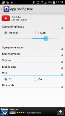 App Config Configure Settings For Individual Android Apps