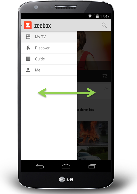 side drawer navigation could cost half your user engagement