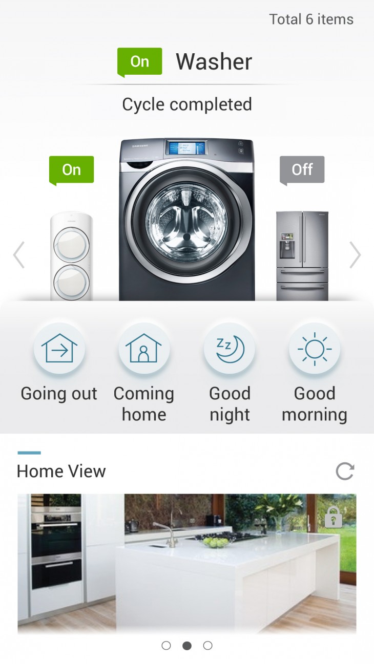 Smart Home Mobile App image 730x1297 Samsung rolls out smart home service in Korea and US to let you control appliances with an app