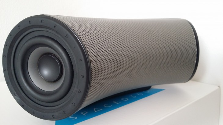 Spaced360 cone 730x410 Spaced360 review: A seriously loud £250 omni directional wireless speaker