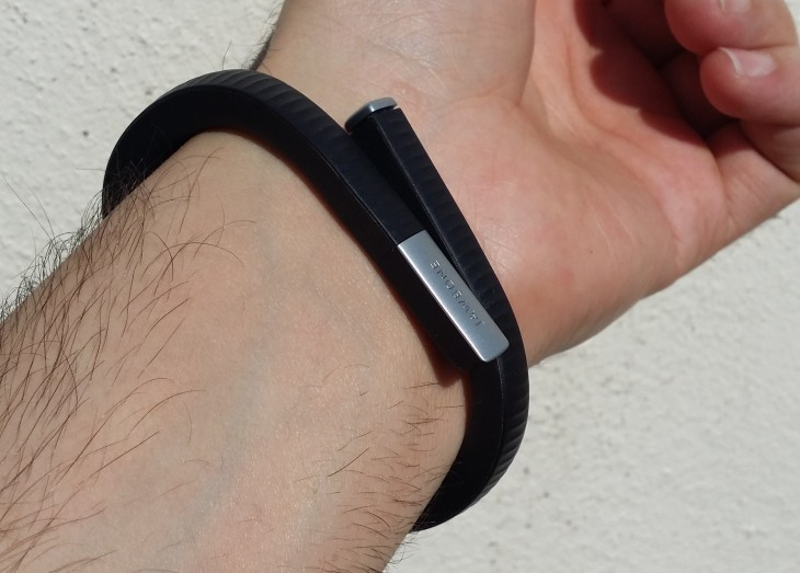 UP24 wearing 730x523 UP24 review: Jawbones newest activity tracker ups the ante for the quantified self
