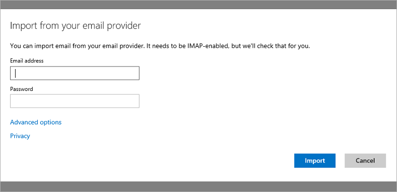 Yahoo Blog 2 Microsoft now lets Outlook.com users import email from IMAP enabled providers, including Yahoo Mail