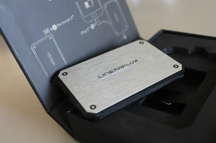 a 730x486 LithiumCard: A Slimline battery pack designed to turbo charge your gadgets