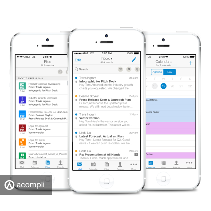 Acompli: a Perfect iOS Email App but We Wish it Wasn't Free