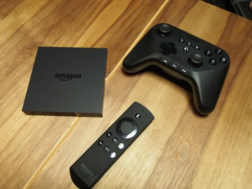 amazon fire tv close up 520x390 Amazon Fire TV first impressions: Amazon delivers a game pad, voice search, and streaming at lightning speeds