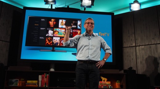 amazon firetv 520x291 Amazon launches Fire TV – a $99 media streaming and gaming device