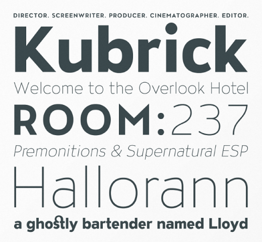 atc overlook 520x480 Our favorite typefaces from March 2014