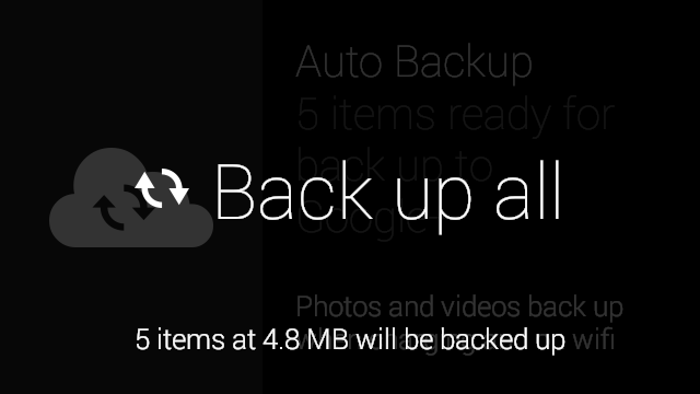 back up all Google Glass update adds photo and video backup, option to clear media from timeline, smarter phone answering