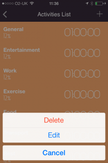 c4 220x330 Day Flow for iPhone is a simple time tracker that helps you visualize your efficiency