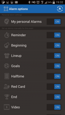 c9 220x391 Want real time alerts for all your favorite sports? Check out Score Alarm for Android.