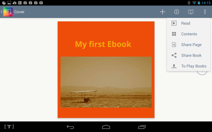 d1 730x456 Book Creator now lets you create your own ebooks from your Android tablet