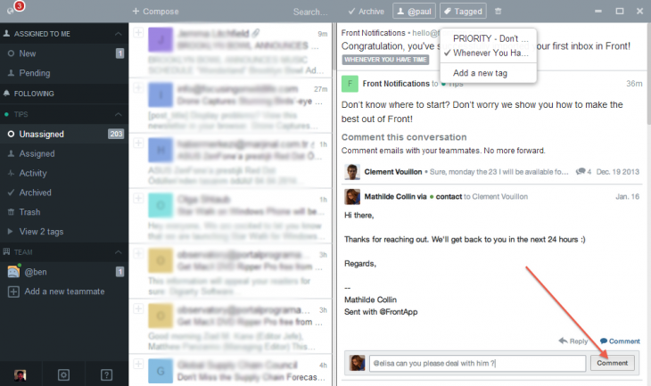 d2 730x433 Front helps companies collaborate with shared email inboxes