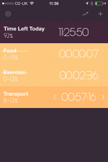 d3 220x330 Day Flow for iPhone is a simple time tracker that helps you visualize your efficiency