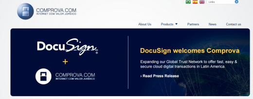 docusign comprova en 520x204 Latin America tech update: All the tech news you shouldn't miss from the past month