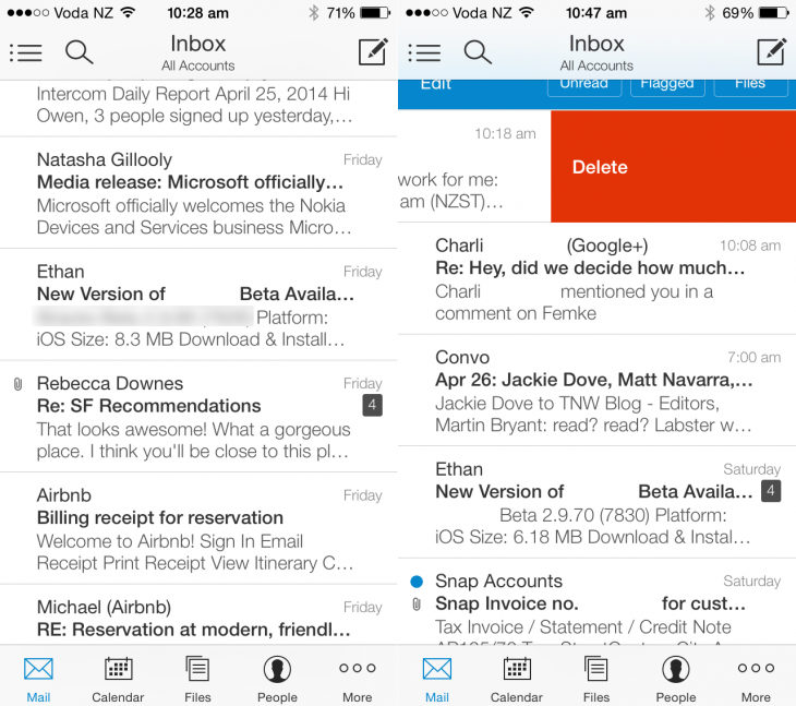 email 730x647 The perfect iOS email app finally exists, but we wish it wasnt free
