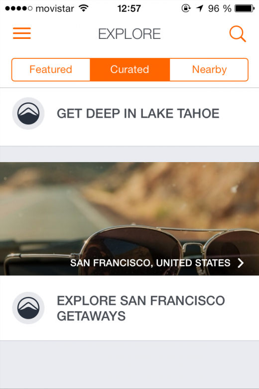 epiclist explore 520x780 Epiclists app lets you plan, book and share your next travel adventure