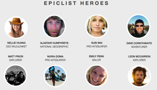 epiclist heroes 520x298 Epiclists app lets you plan, book and share your next travel adventure
