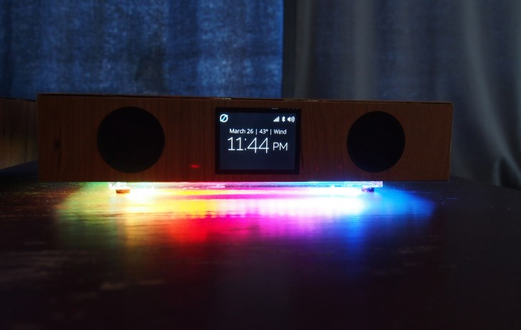 glowdeck colors 730x463 Hands on with Glowdeck, a beautiful 3 in 1 wireless charger, speaker and notification center