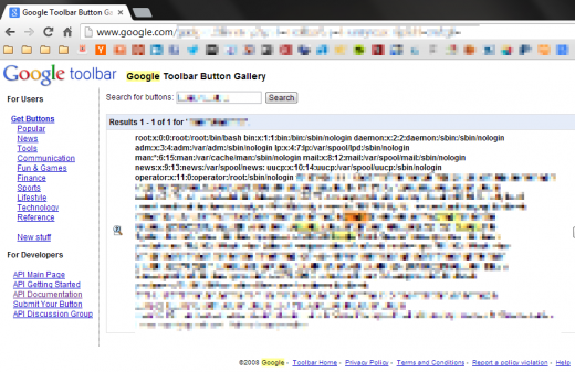 googlexxe passwd blurred 873 520x337 How we hacked Googles production server and received a $10K reward