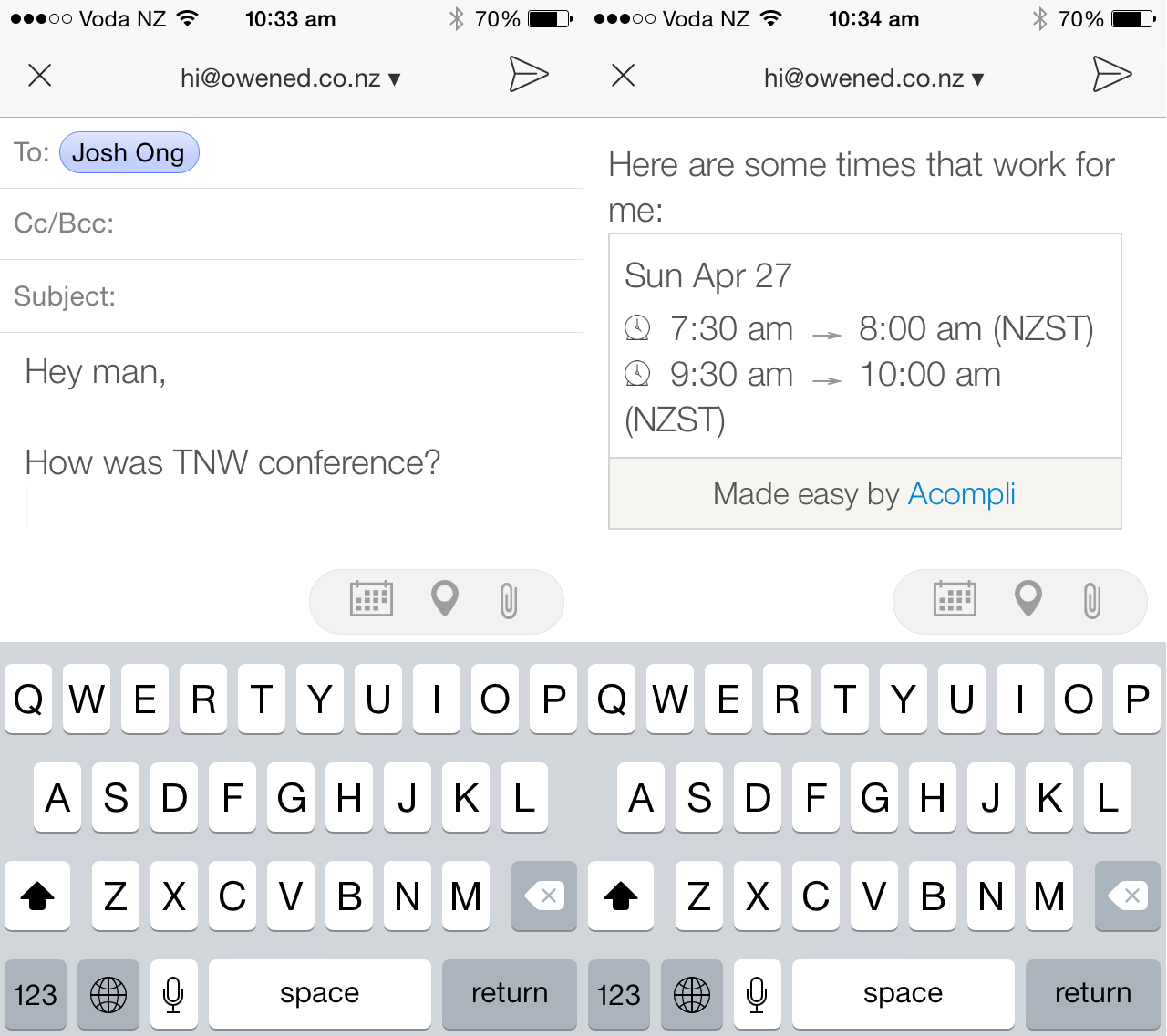 josh The perfect iOS email app finally exists, but we wish it wasnt free