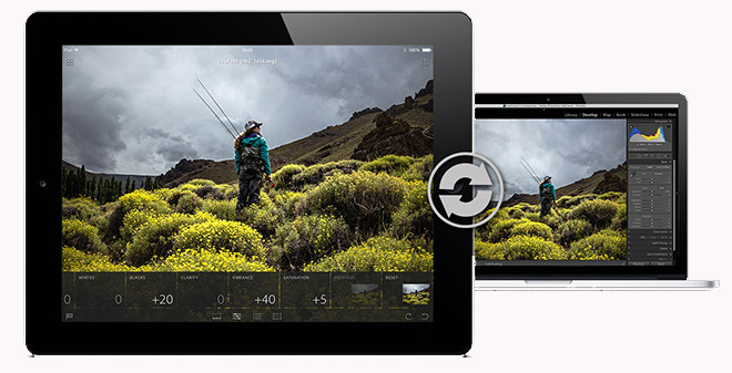 lr mobile ipad sync 700x40011 Adobe launches Lightroom Mobile for iPad, but you must be a Creative Cloud subscriber to use it