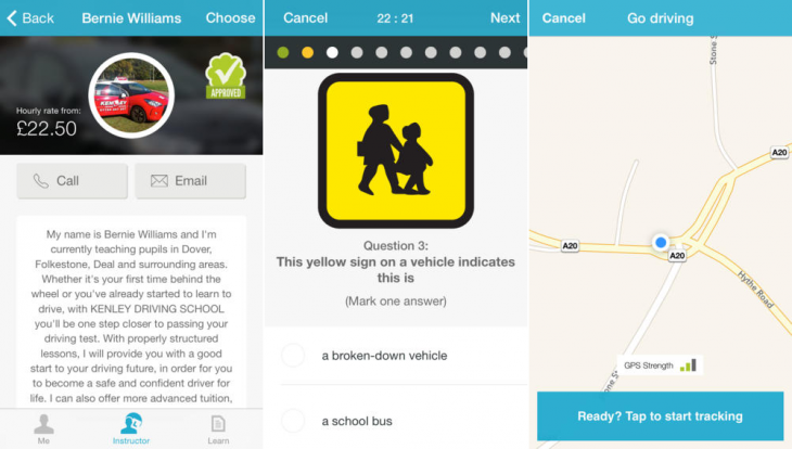 miDrive 730x414 miDrives iPhone app is an all in one toolkit for UK learner drivers