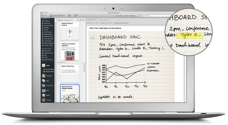 moleskine2 730x401 Evernote and Moleskines new business notebook gives you more ways to share and organize pages