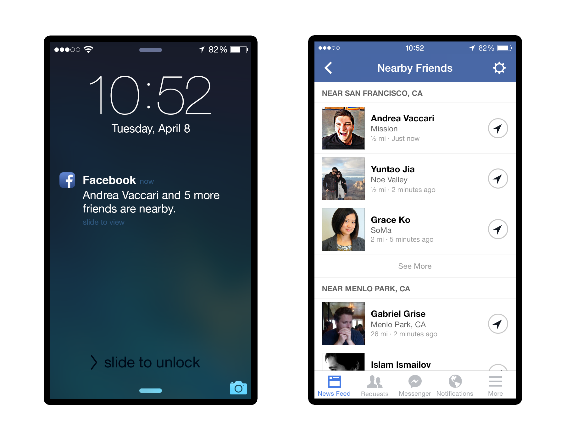 nearby friends press 1 Facebook launches optional Nearby Friends feature for Android and iOS