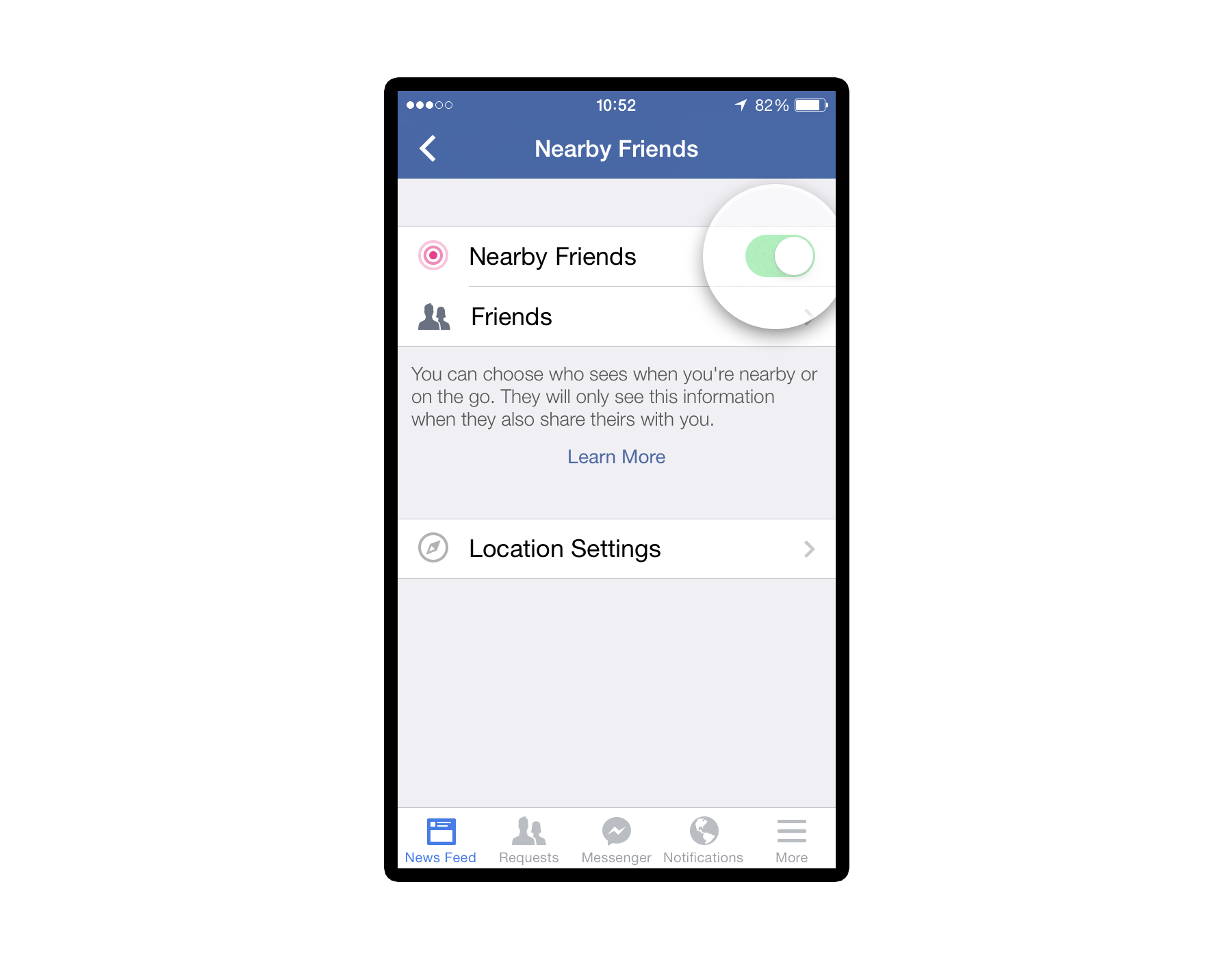 nearby friends press 2 Facebook launches optional Nearby Friends feature for Android and iOS