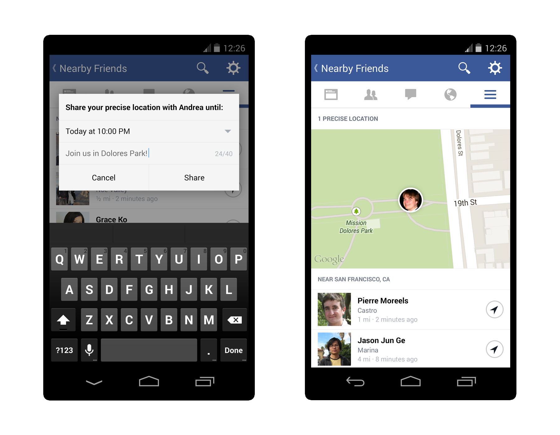 nearby friends press 3 Facebook launches optional Nearby Friends feature for Android and iOS