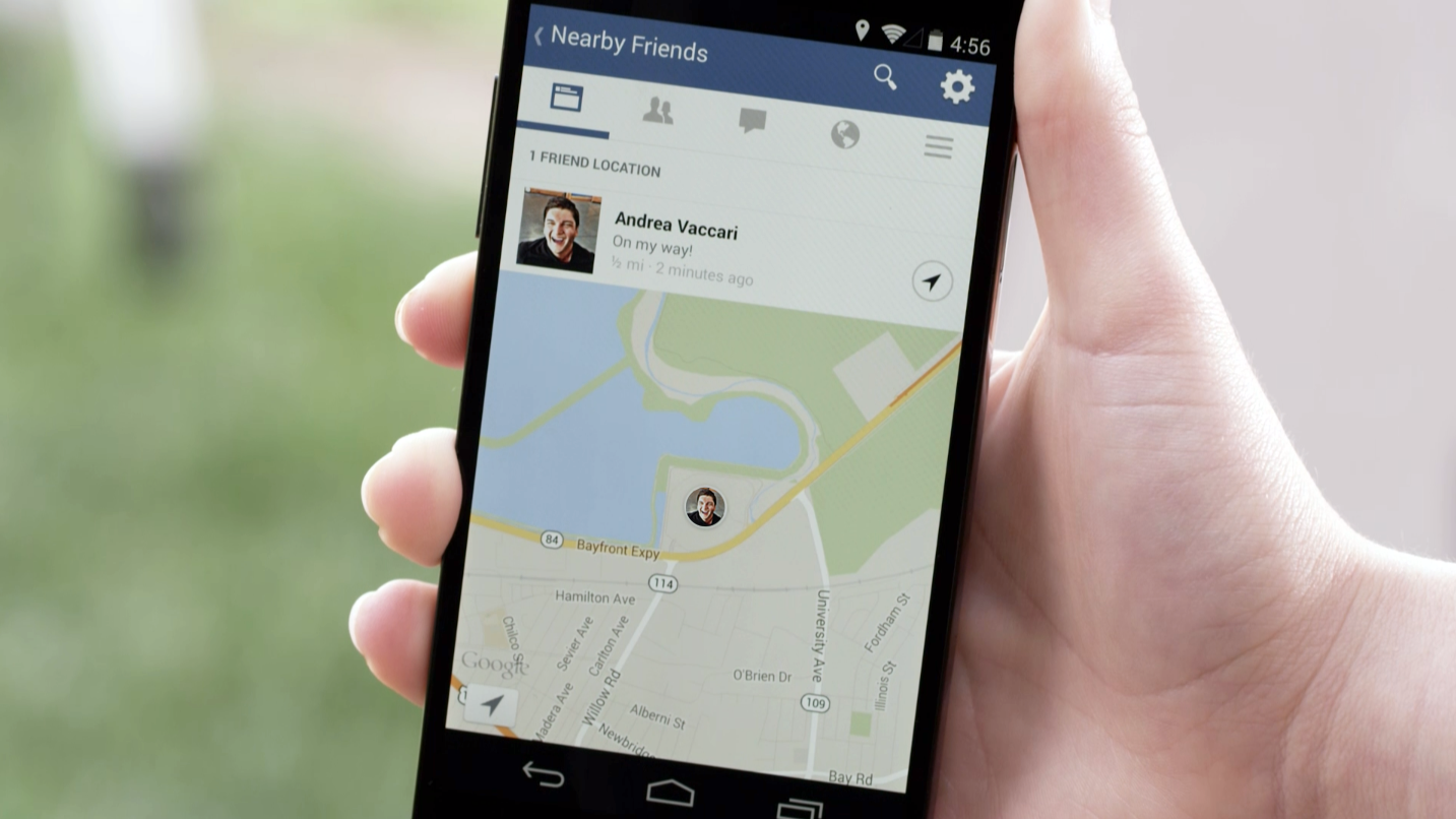 nearby friends1 Facebook launches optional Nearby Friends feature for Android and iOS