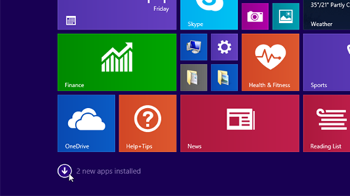 new apps update thumb 52A46E48 Microsoft unveils Windows 8.1 Update 1 coming April 8 with Taskbar and Start Screen tweaks for mouse users