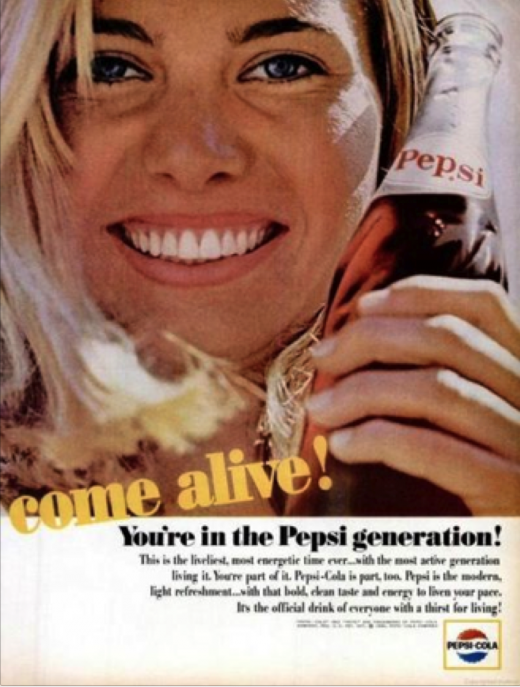 pepsi gen 520x687 A brief history of brand love: The evolution of viral advertising