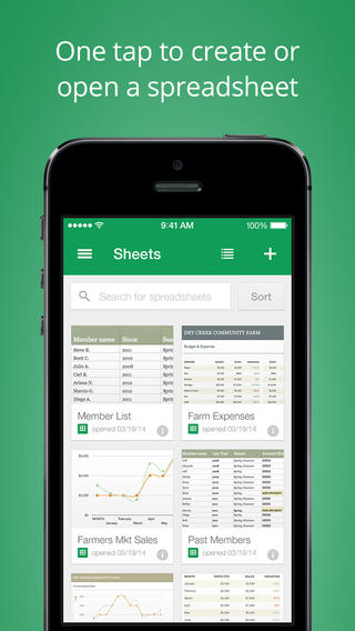 Google unveils dedicated iOS apps for docs and spreadsheets with offline editing and autosave