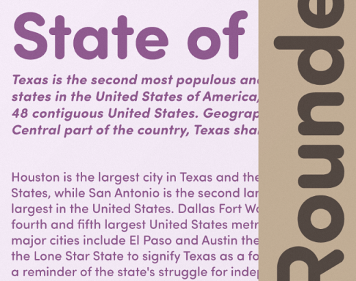 sofia soft pro 520x410 Our favorite typefaces from March 2014