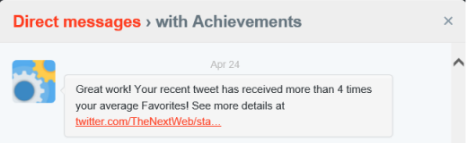 twitter achievementbird 520x160 Twitter tests Significant engagement notifications in its iOS app