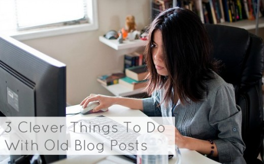 woman using computer 520x324 12 ways to extend the life of every article you write