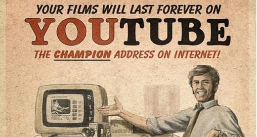 YouTube vintage parody