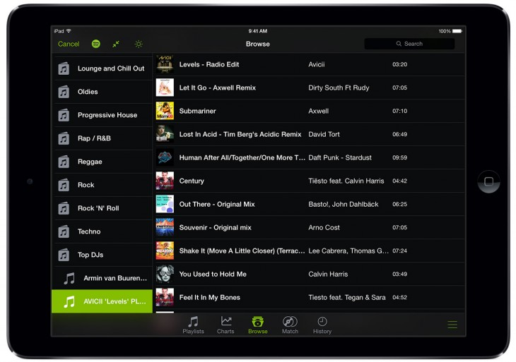 0521 djay2 730x513 Djay 2 for iOS update adds access to Spotify's 20 million tracks to your next dance party