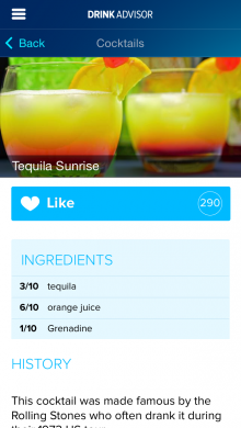 2014 05 08 10.33.00 220x390 DrinkAdvisor: This app is your guide to the best drinks, bars and nightclubs