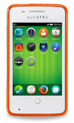 Alcatel One Touch Fire 252x417 América Móvil brings Firefox OS devices to Mexico